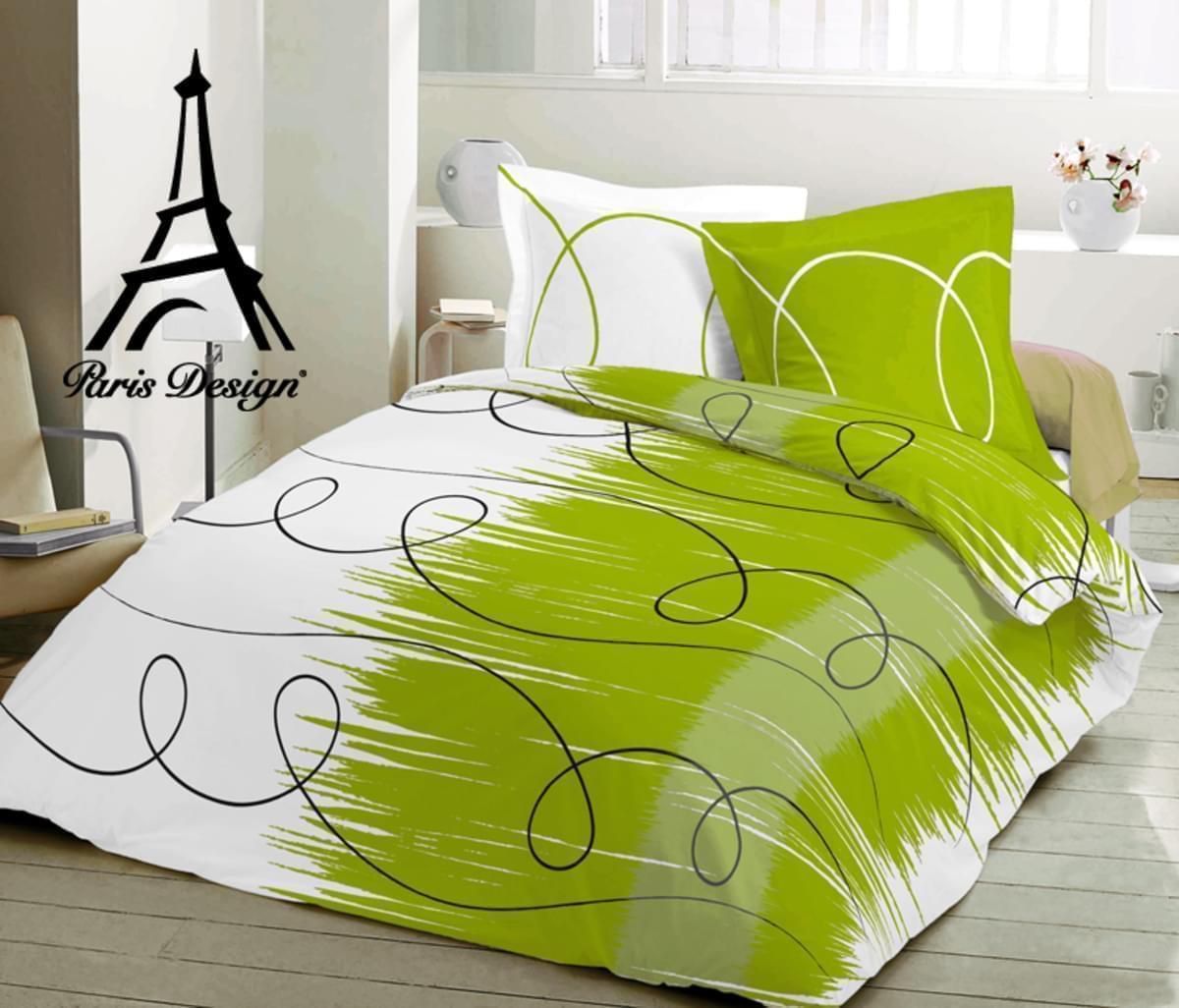 Forbyt Povlečení - ROLLS zelená - bavlna satén exklusiv 140 x 220 cm + 70 x 90 cm