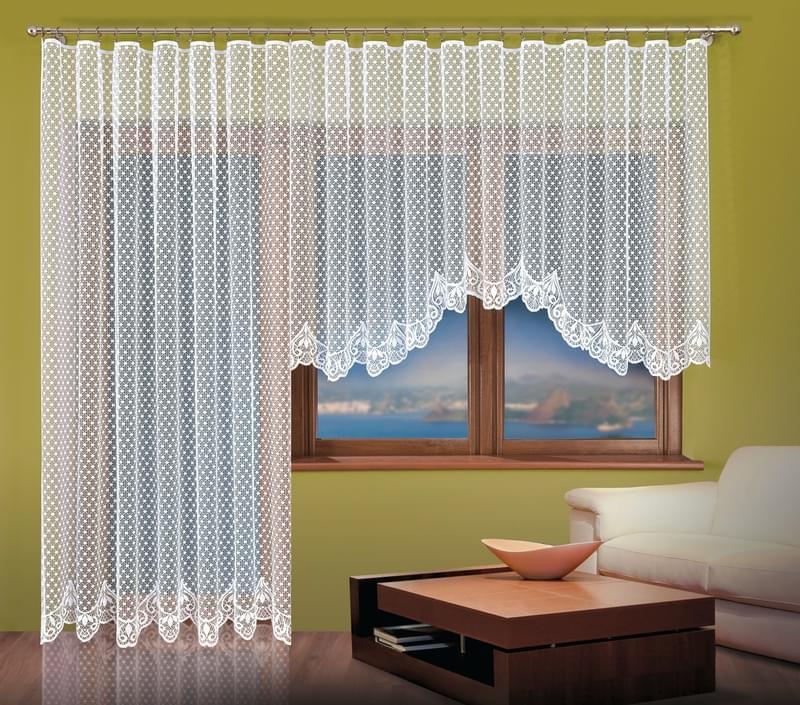 Forbyt Hotová záclona nebo Balkonový komplet, Sandra 400 x 160 cm