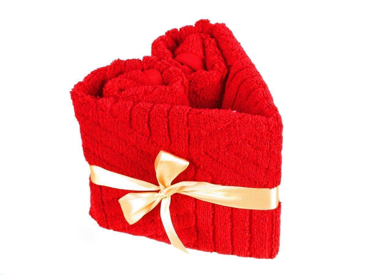 Forbyt, Srdce ručníkové, Simple Argos, červené