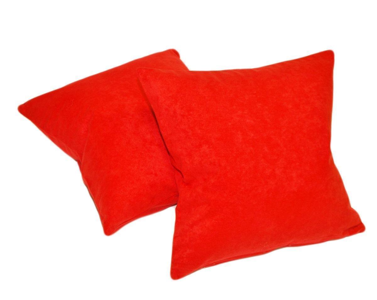 Forbyt, Návlek na polštář, Suedine sada 2 ks, červený