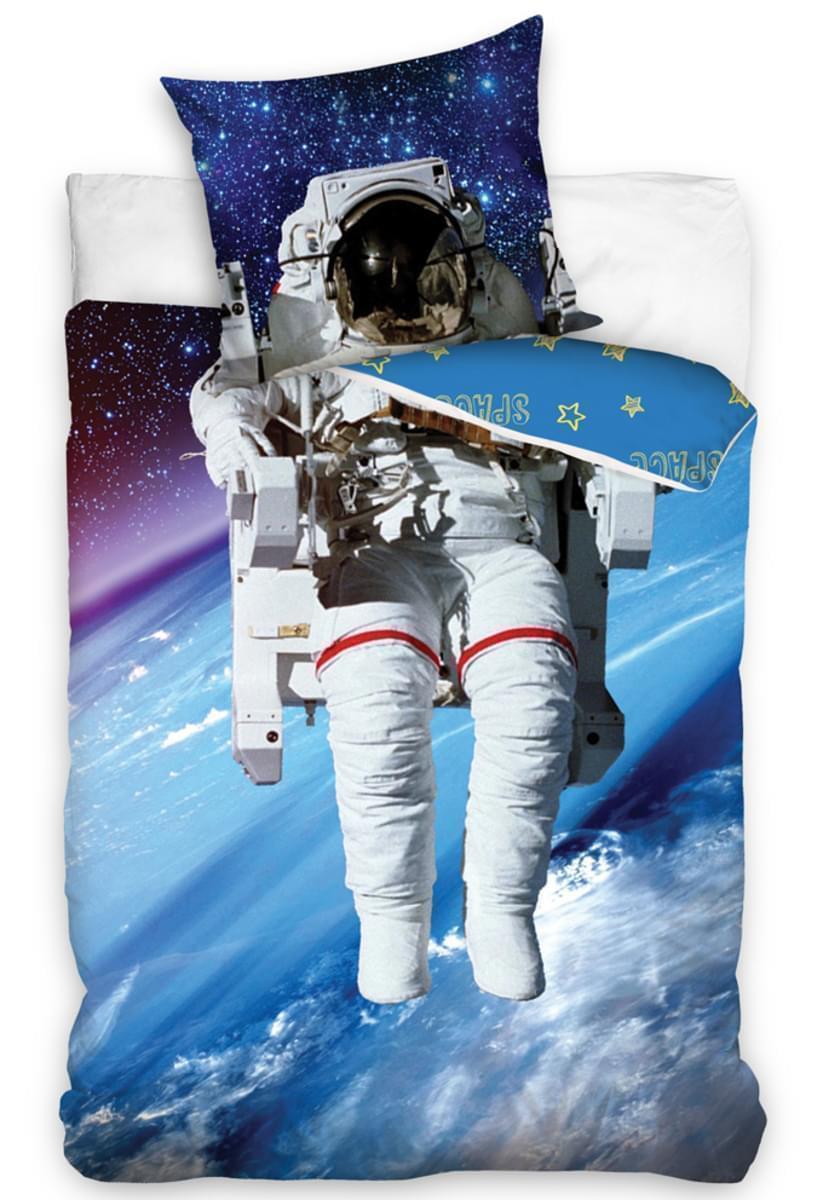 Svítící povlečení Astronaut