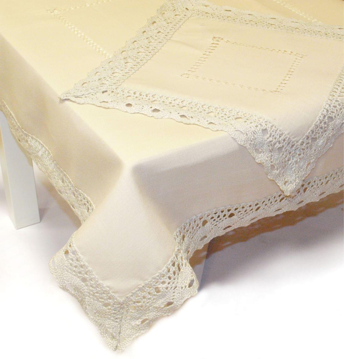Forbyt, Ubrus celoroční, Vintage colour, bežový, čtverec 85 x 85 cm