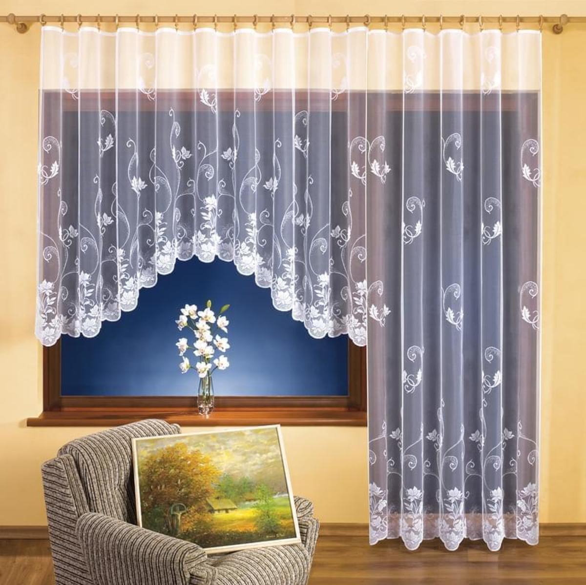Forbyt Balkonová nebo Hotová záclona, Věra 350 x 160 cm