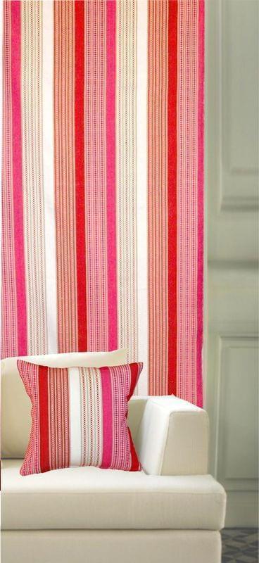 Forbyt, Závěs dekorační, Stripe 138 cm, červená