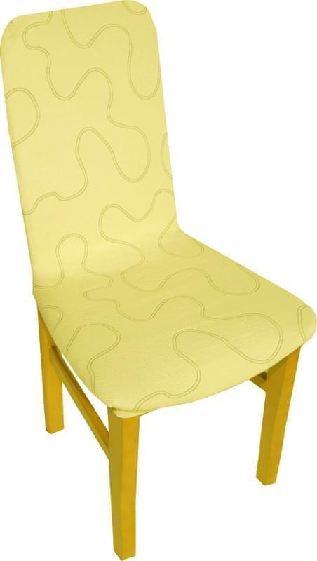 Forbyt, Potah multielastický na židle, Lazos světle béžový komplet 2 ks