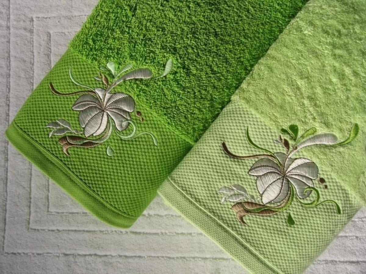 Forbyt, Ručník nebo osuška, Doris zelená 50 x 100 cm