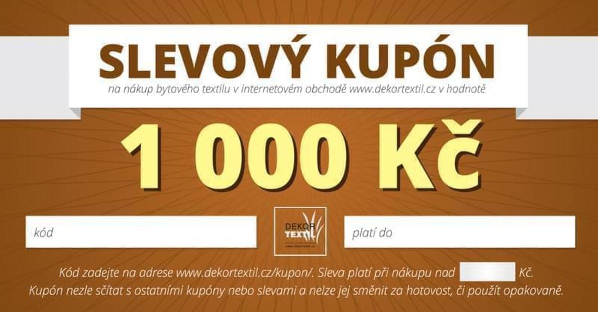 Forbyt Poukaz na 1000 Kč