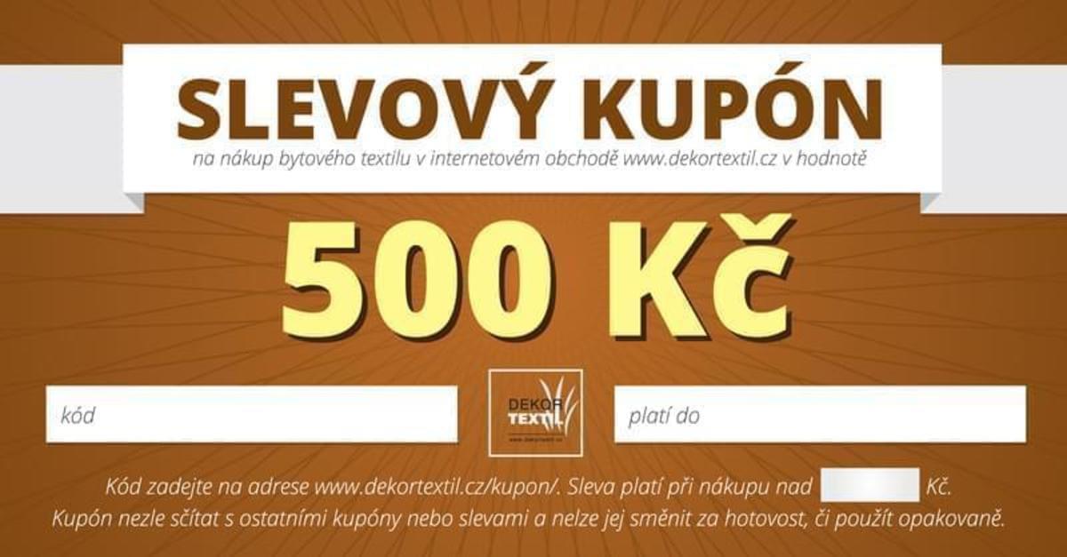 Forbyt Poukaz na 500 Kč
