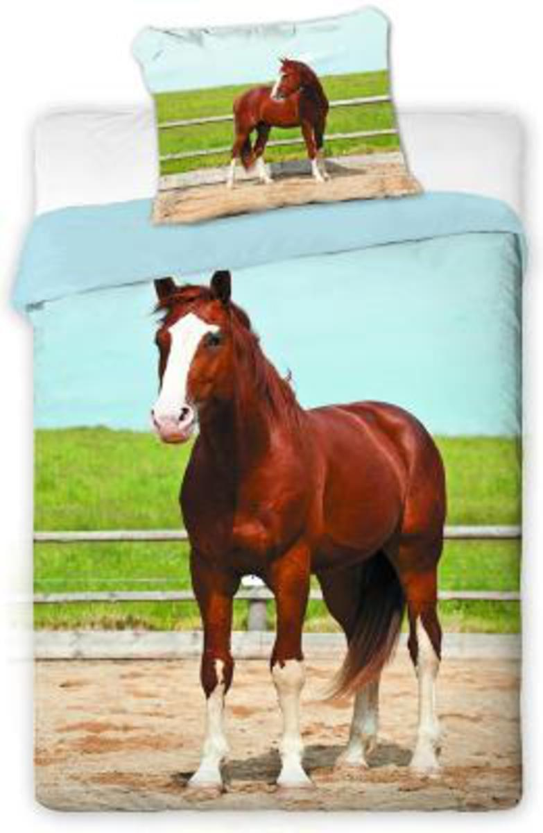 Forbyt, Povlečení, bavlněné, kůň hnědý