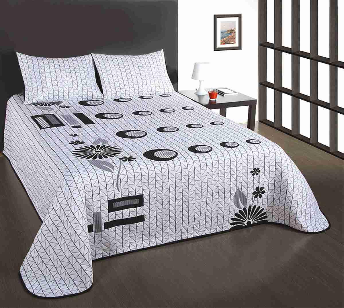 e7f19a73774a Přehoz na postel s návleky