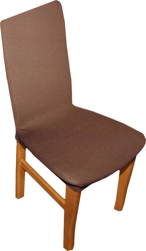 Forbyt Potah multielastický na židle komplet, 2 ks, Nautic, hnědý 60 cm