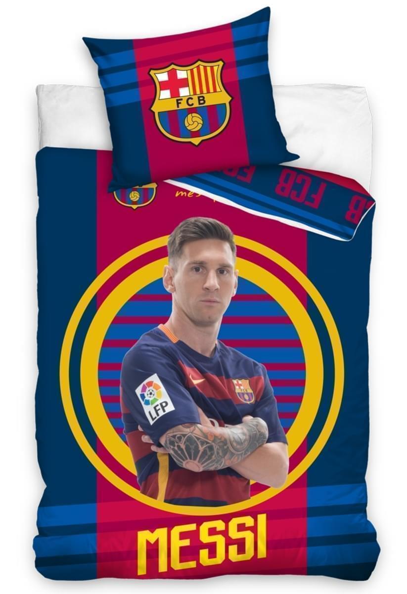 Fotbalové povlečení FC Barcelona Messi