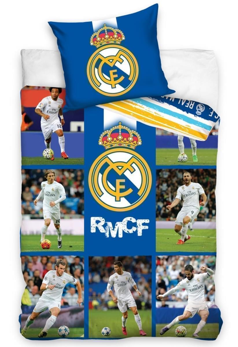 Forbyt, Ložní povlečení Real Madrid s fotkami hráčů