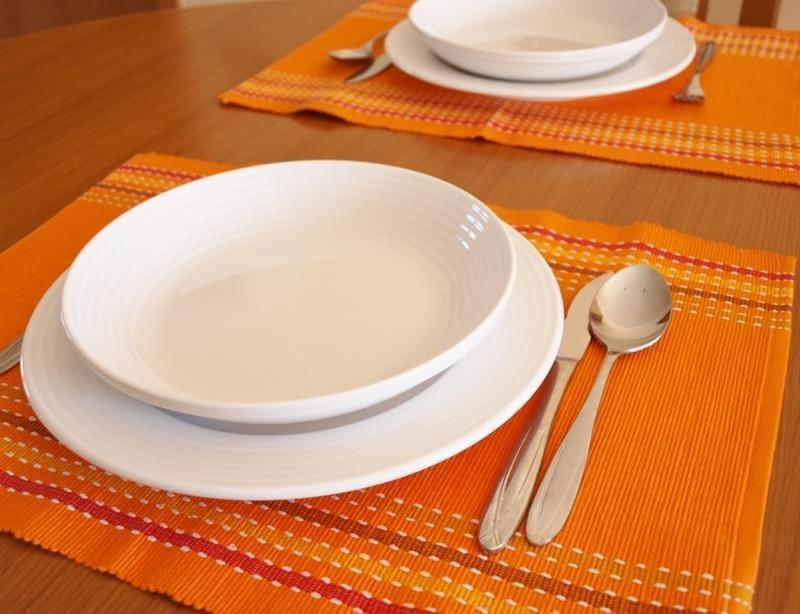 Forbyt Dekorační prostírání , Viktoria, 40 x 90 cm pruh , oranžová 40 x 120 cm
