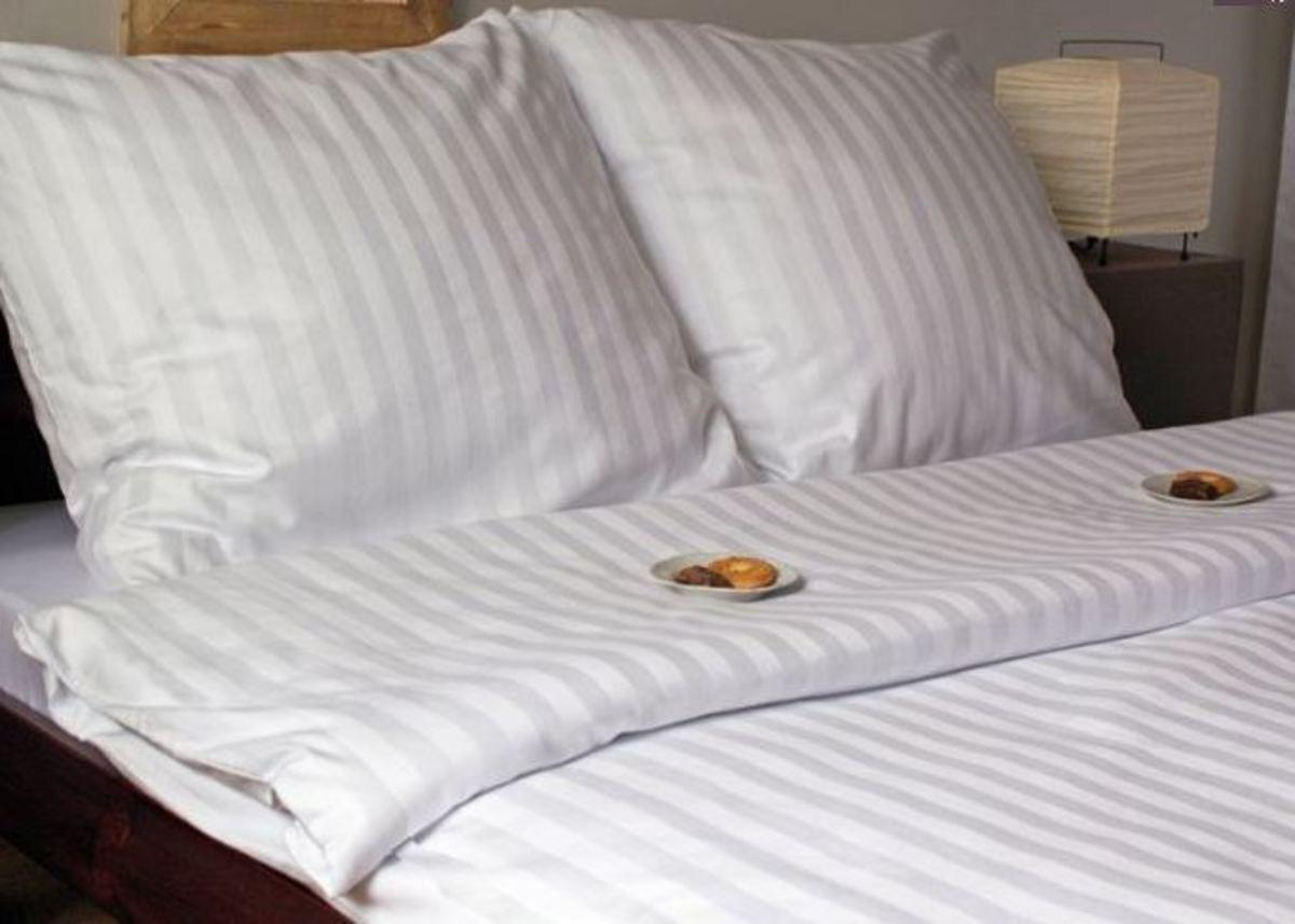 Forbyt , Povlečení set Grade Hotel, bílý 70 x 90 cm