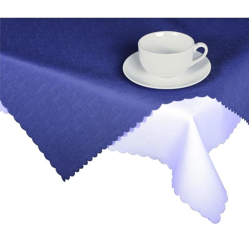Forbyt, Ubrus s nešpinivou úpravou, Jednobarevný Deštík, tmavě modrý 50 x 100 cm