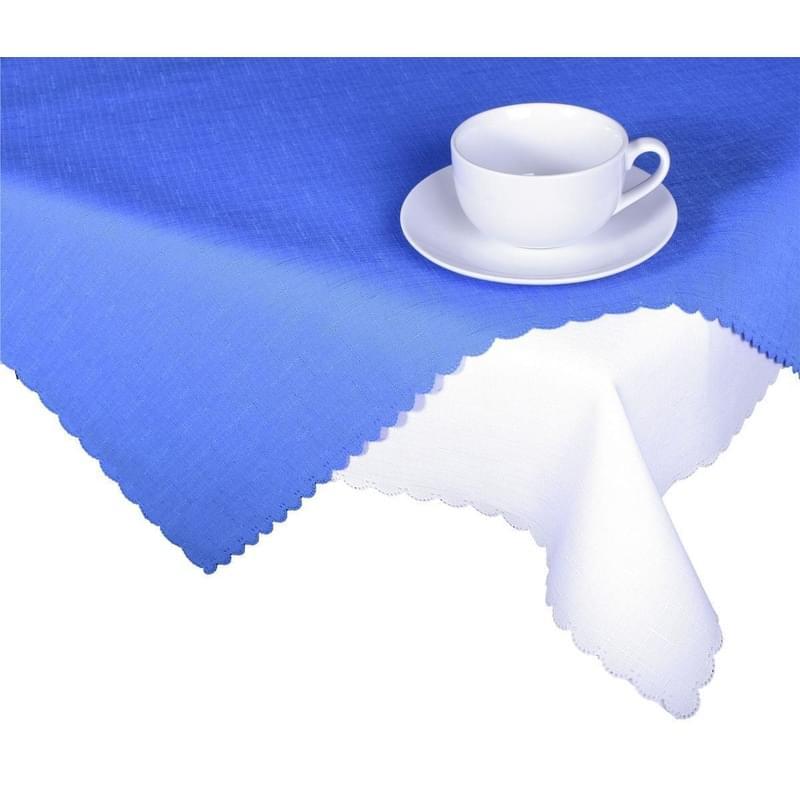 Forbyt, Ubrus s nešpinivou úpravou, Jednobarevný Deštík, modrý 50 x 100 cm