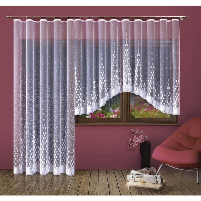 Forbyt, Hotová záclona nebo Balkonový komplet, Paula 300 x 150 cm
