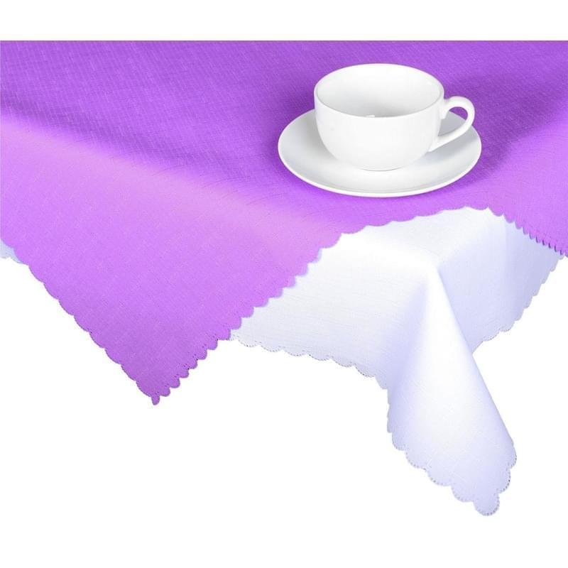 Forbyt, Ubrus s nešpinivou úpravou, Jednobarevný Deštík, fialový 50 x 100 cm