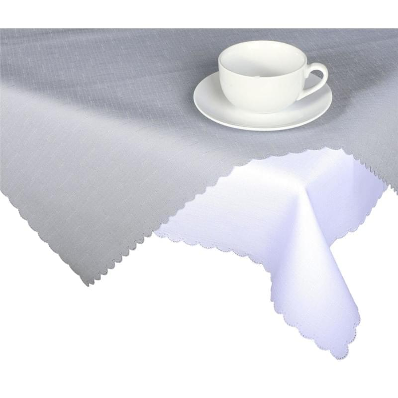 Forbyt, Ubrus s nešpinivou úpravou, Jednobarevný Deštík, šedý 50 x 100 cm
