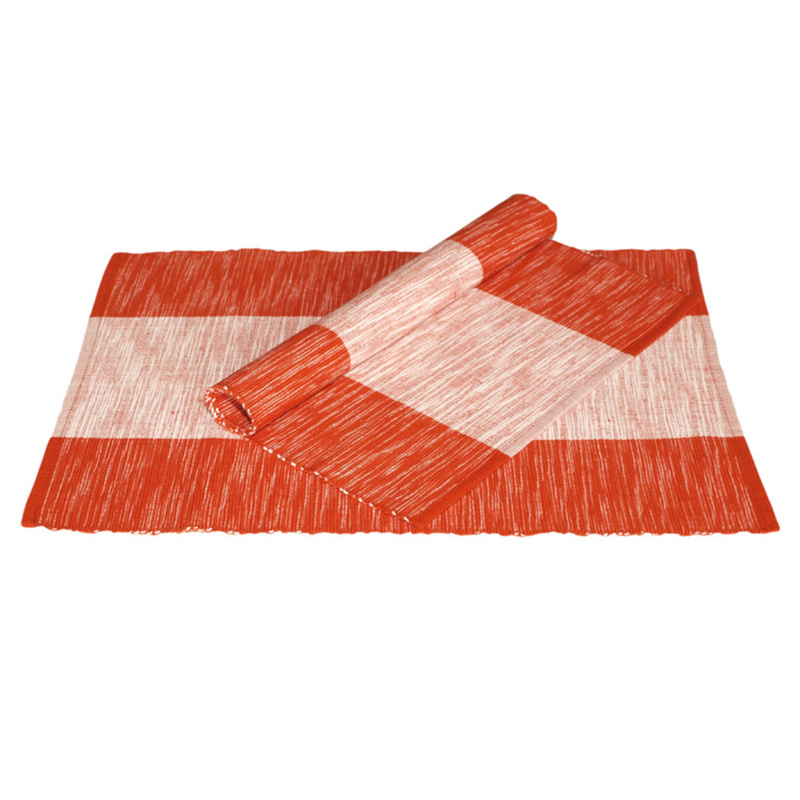 Forbyt , Prostírání bavlněné Amanda, Červené 40 x 120 cm
