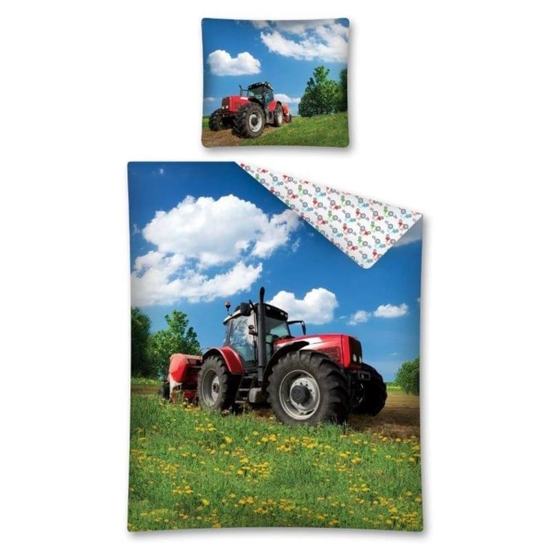 Forbyt, Povlečení bavlněné, Červený traktor
