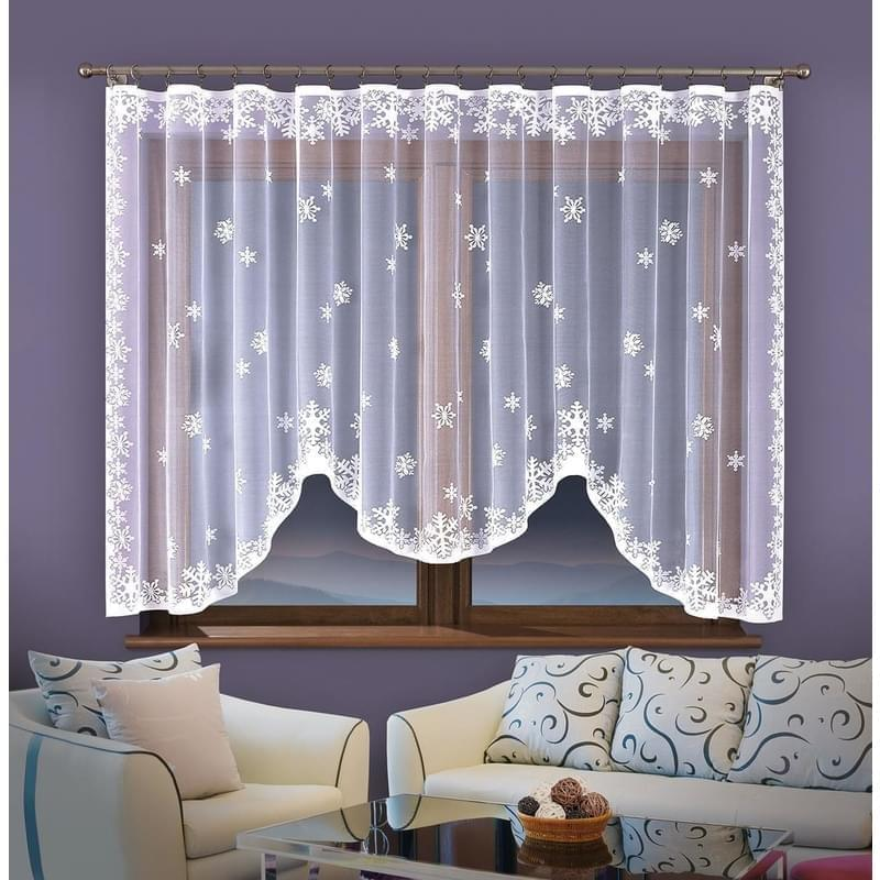 Forbyt, Hotová záclona, Winter, 220 x 120 cm