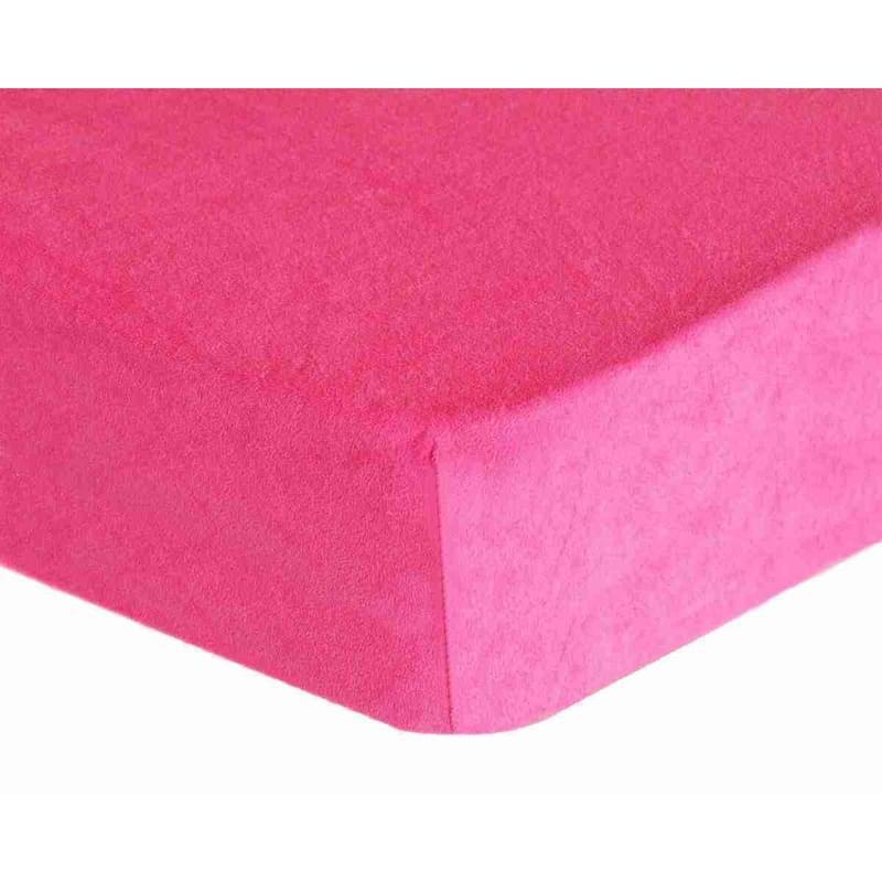 Forbyt, Prostěradlo, Froté Premium, růžové 70 x 140 cm