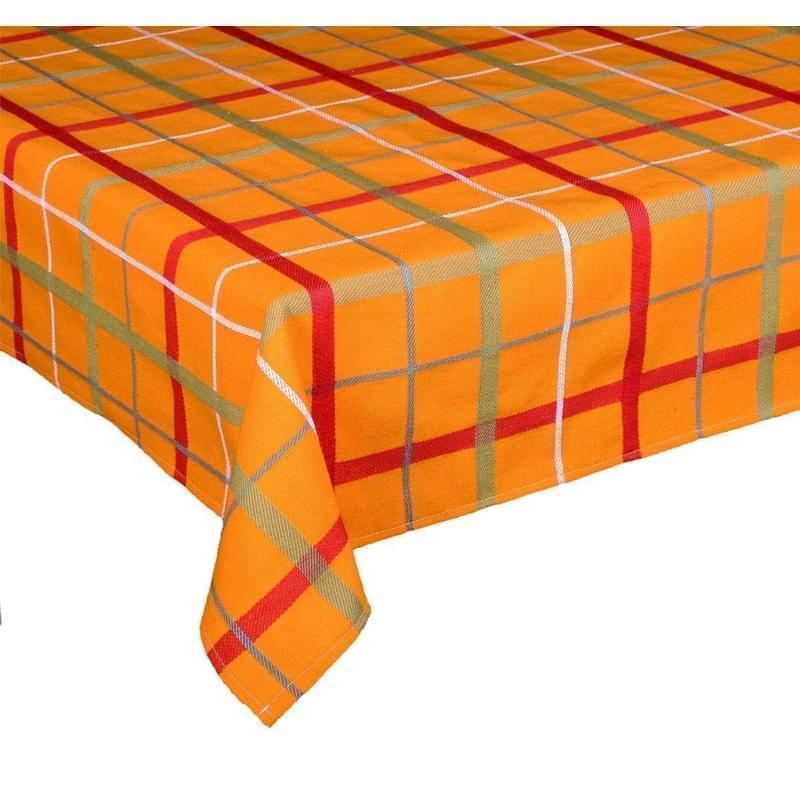 Forbyt, Látka metráž, Kostka, oranžová, 140 cm