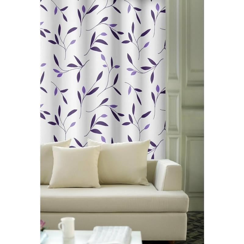 Levně Výprodej Dekorační látky, OXY 28138 105, 150 cm, fialová