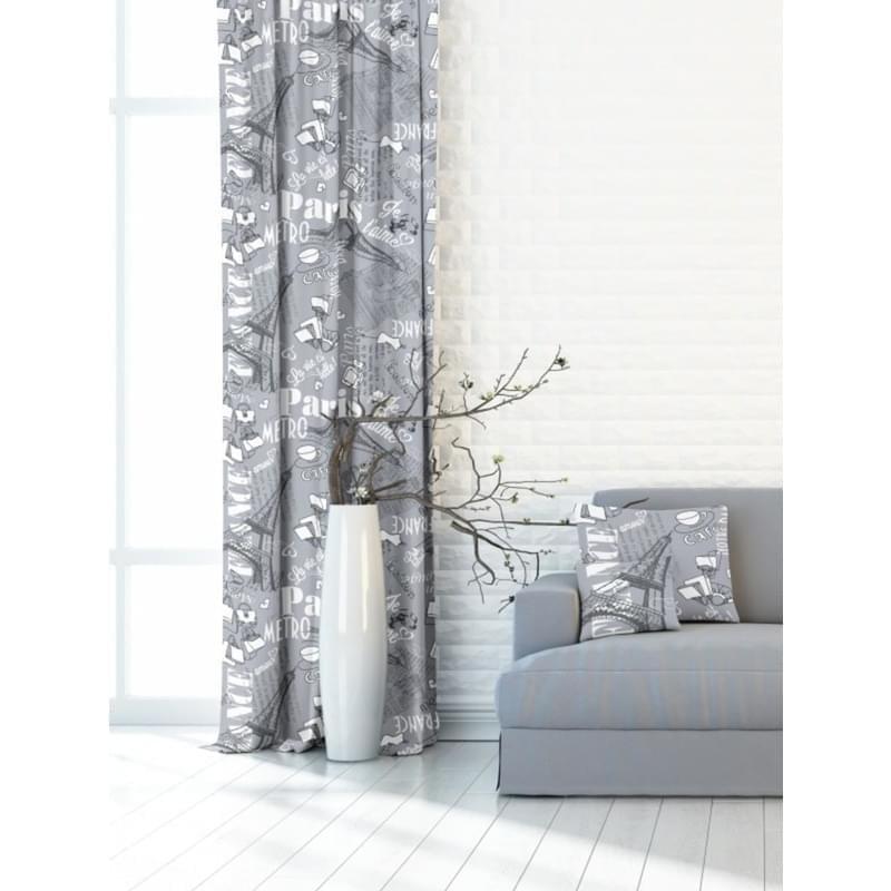 Forbyt, Závěs dekorační, OXY Paris 150 cm, šedý