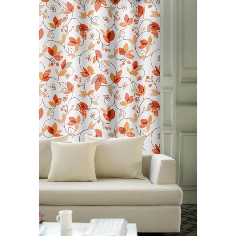 Forbyt, Závěs dekorační, OXY Listy oranžové 150 cm
