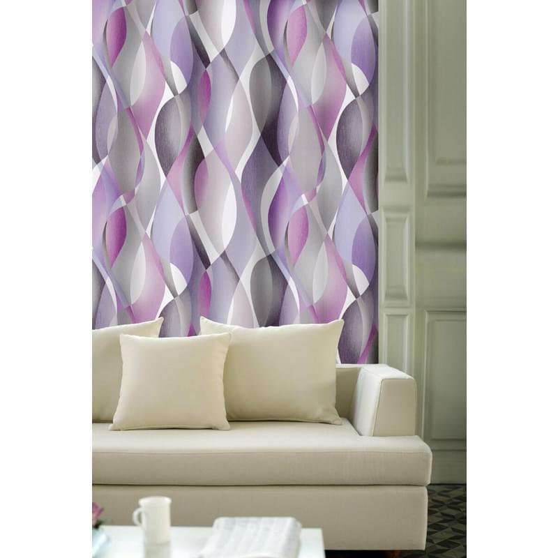 Forbyt, Výprodej Dekorační látky, OXY Hawaii 2, fialovo-šedý, 150 cm