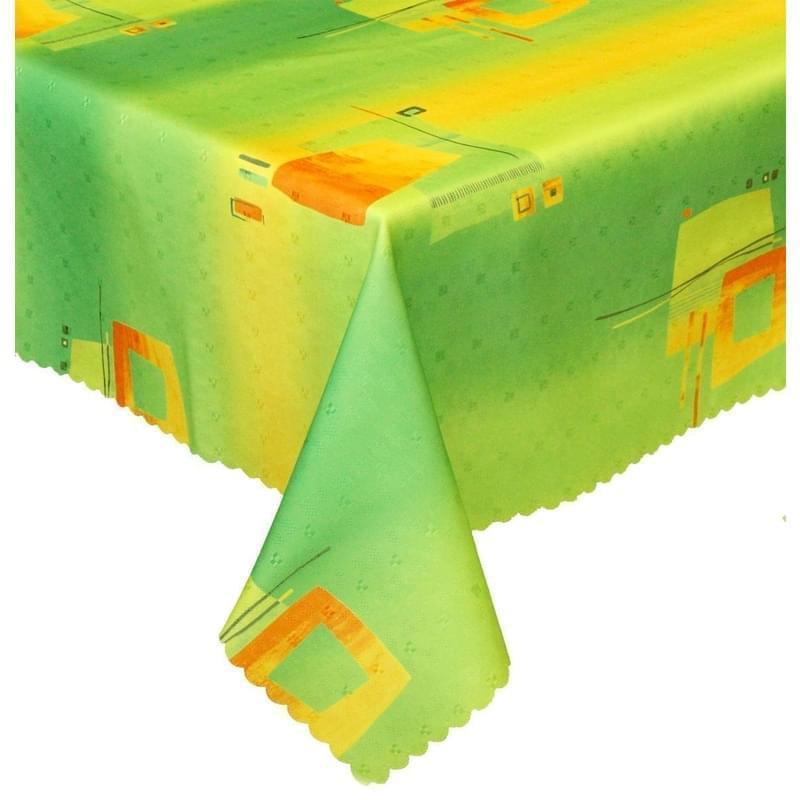 Forbyt, Ubrus s nešpinivou úpravou, Duha zelenožlutá, obdélník 50 x 100 cm