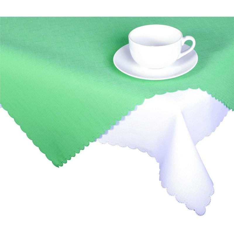 Forbyt, Ubrus s nešpinivou úpravou, Jednobarevný Deštík, světle zelený 50 x 100 cm