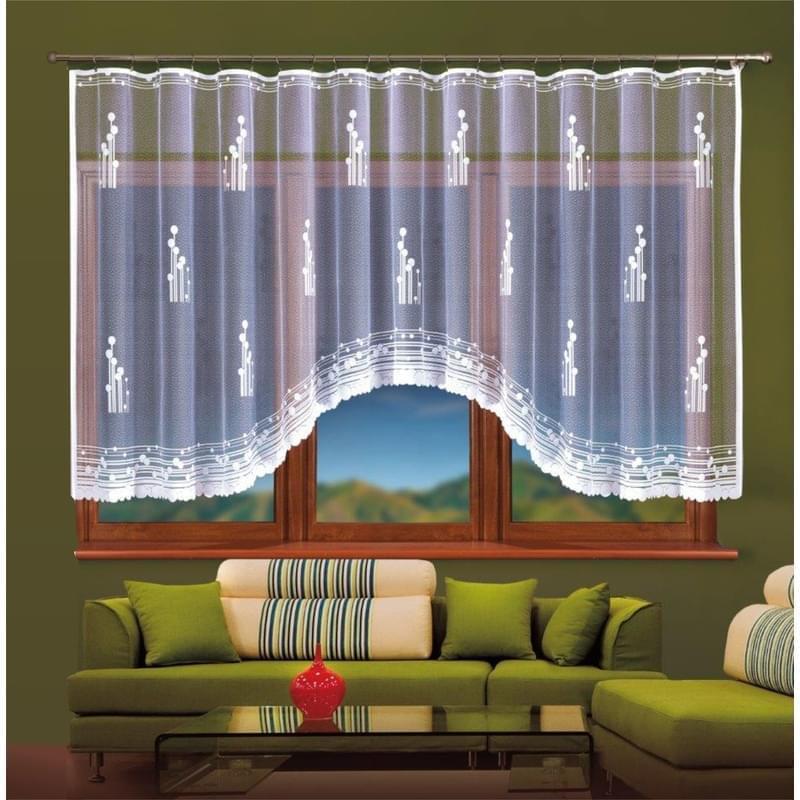 Forbyt, Hotová záclona, Amadea 250 x 120 cm bílá
