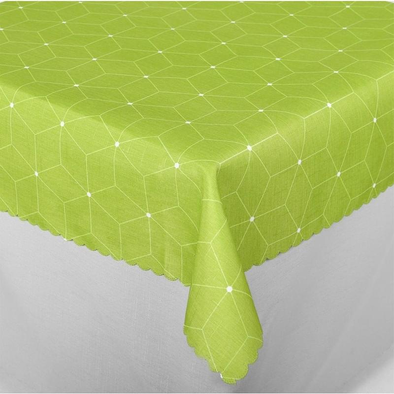 Forbyt, Ubrus s nešpinivou úpravou, Aneta, zelený 100 x 140 cm