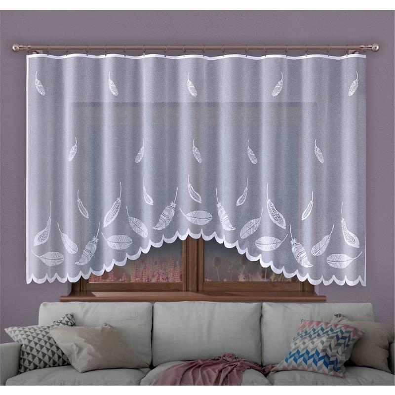Forbyt, Hotová záclona, Bora, bílá 280 x 130 cm