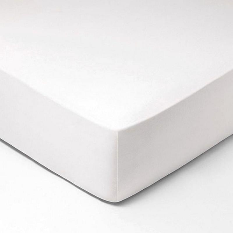 Forbyt, Prostěradlo, Jersey, bílá 120 x 200 cm
