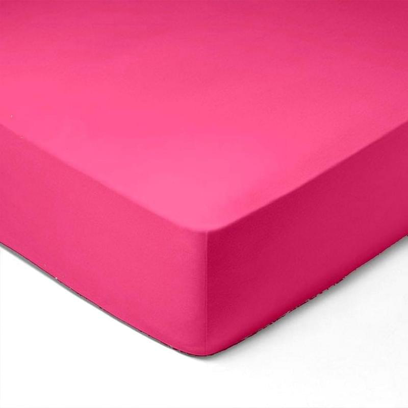 Forbyt, Prostěradlo, Jersey, růžová 140 x 200 cm