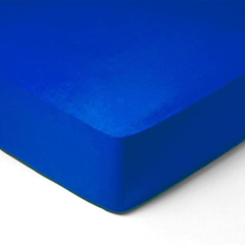 Forbyt, Prostěradlo, Jersey, tmavě modrá 140 x 200 cm