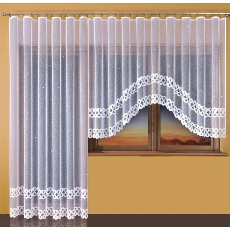 Hotová záclona nebo Balkonový komplet - Ema 250 x 130 cm 200 x 250 cm