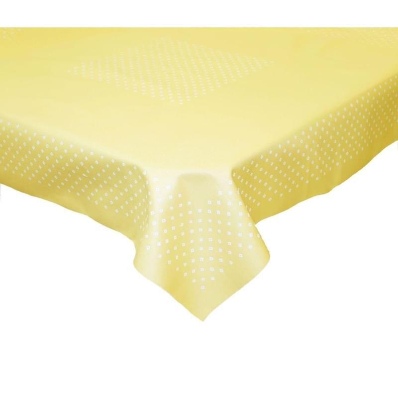 Forbyt, Ubrus bavlněný, Exclusive, žlutý 90 x 90 cm