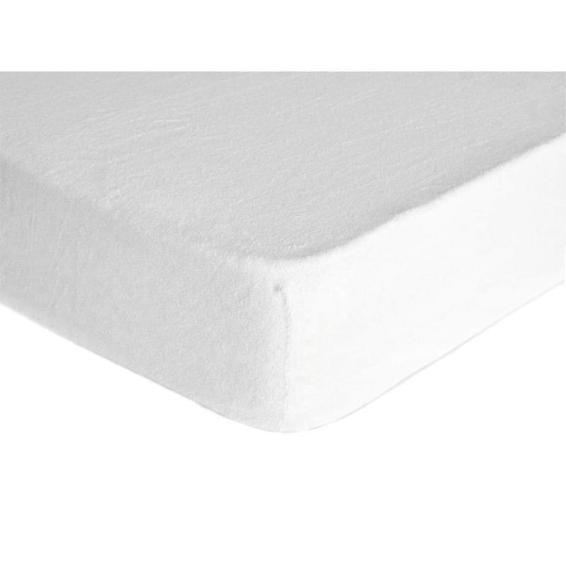 Forbyt, Prostěradlo, Froté Premium, bílé 60 x 120 cm