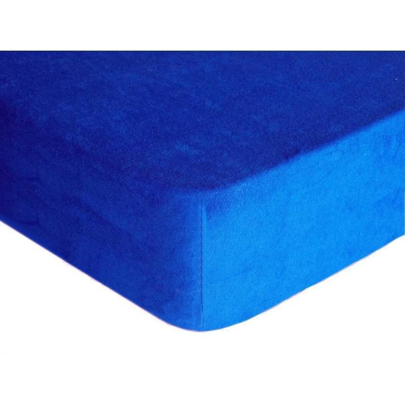 Forbyt, Prostěradlo, Froté Premium, tmavě modrá 120 x 200 cm