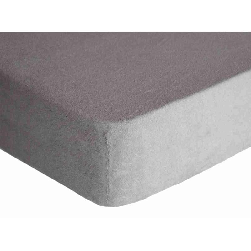 Forbyt, Prostěradlo, Froté Premium, šedá 70 x 140 cm