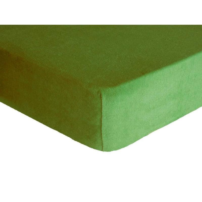 Forbyt, Prostěradlo, Froté Premium, olivová 70 x 140 cm