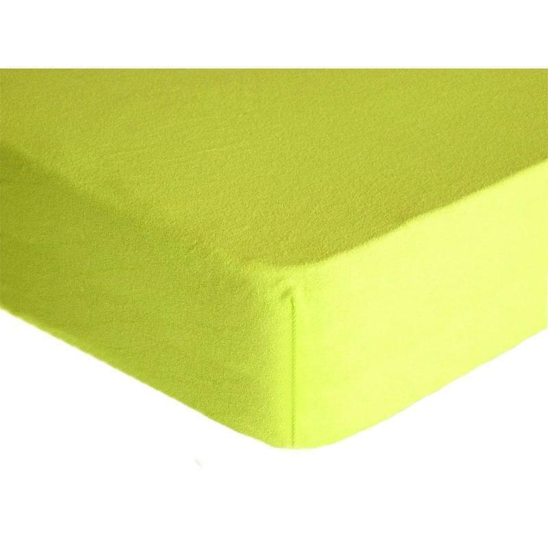 Forbyt, Prostěradlo, Froté Premium, citrónové 70 x 140 cm