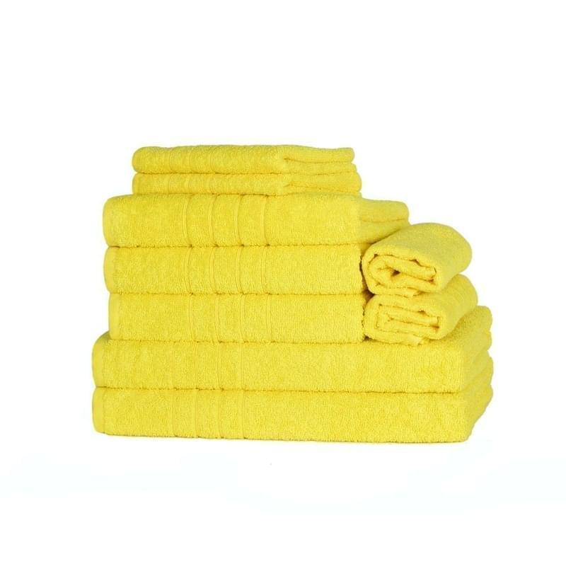 Forbyt, Ručník nebo osuška, Fine, žlutý 70 x 140 cm