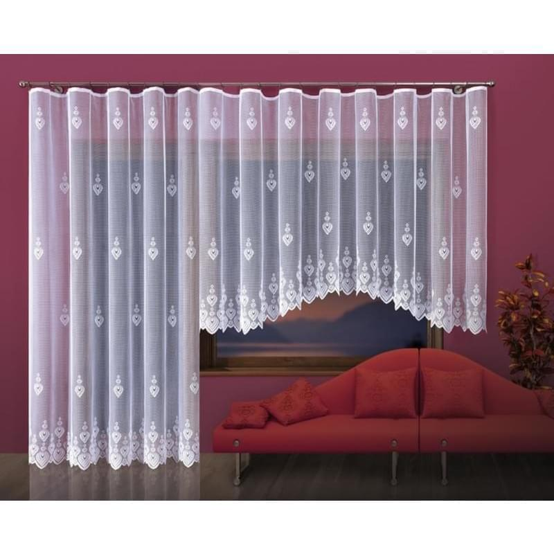 Forbyt, Hotová záclona nebo Balkonový komplet, Helga 350 x 160 cm